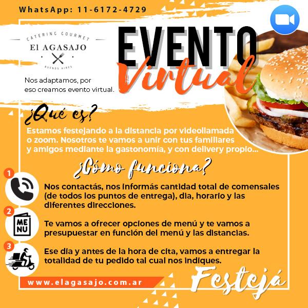 Flayer Evento Virtual